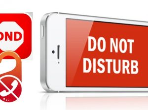 Don't Disturb